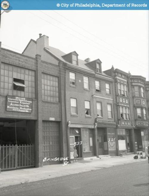 321-323 Bainbridge St., 1959