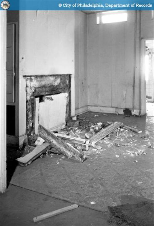 331 Lombard St, Demolished Interior, 1963
