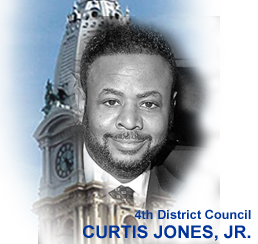 City Council member Curtis Jones Jr.