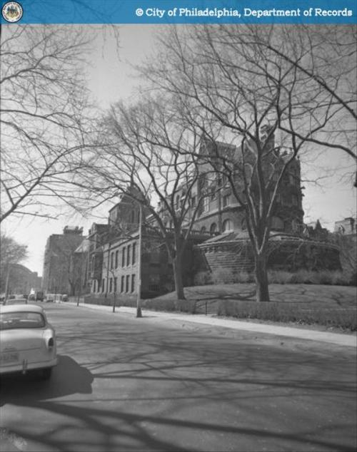University of Pennsylvania, Furness Library 34st and Walnut St 3/17/1961