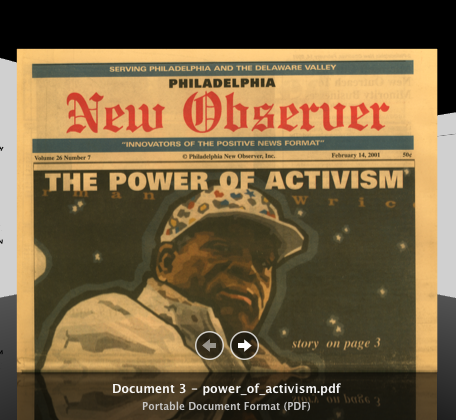 Article from the Philadelphia New Observer on the power of activism in Mantua